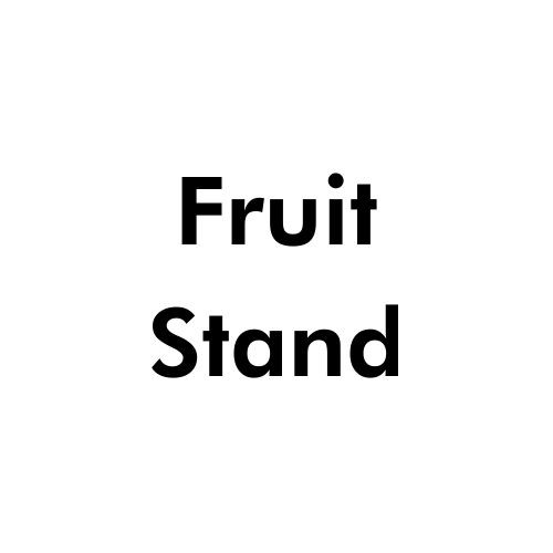 fruit-stand