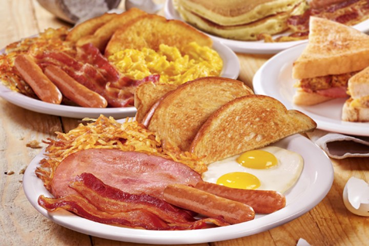 Denny's All-day Breakfast Dishes