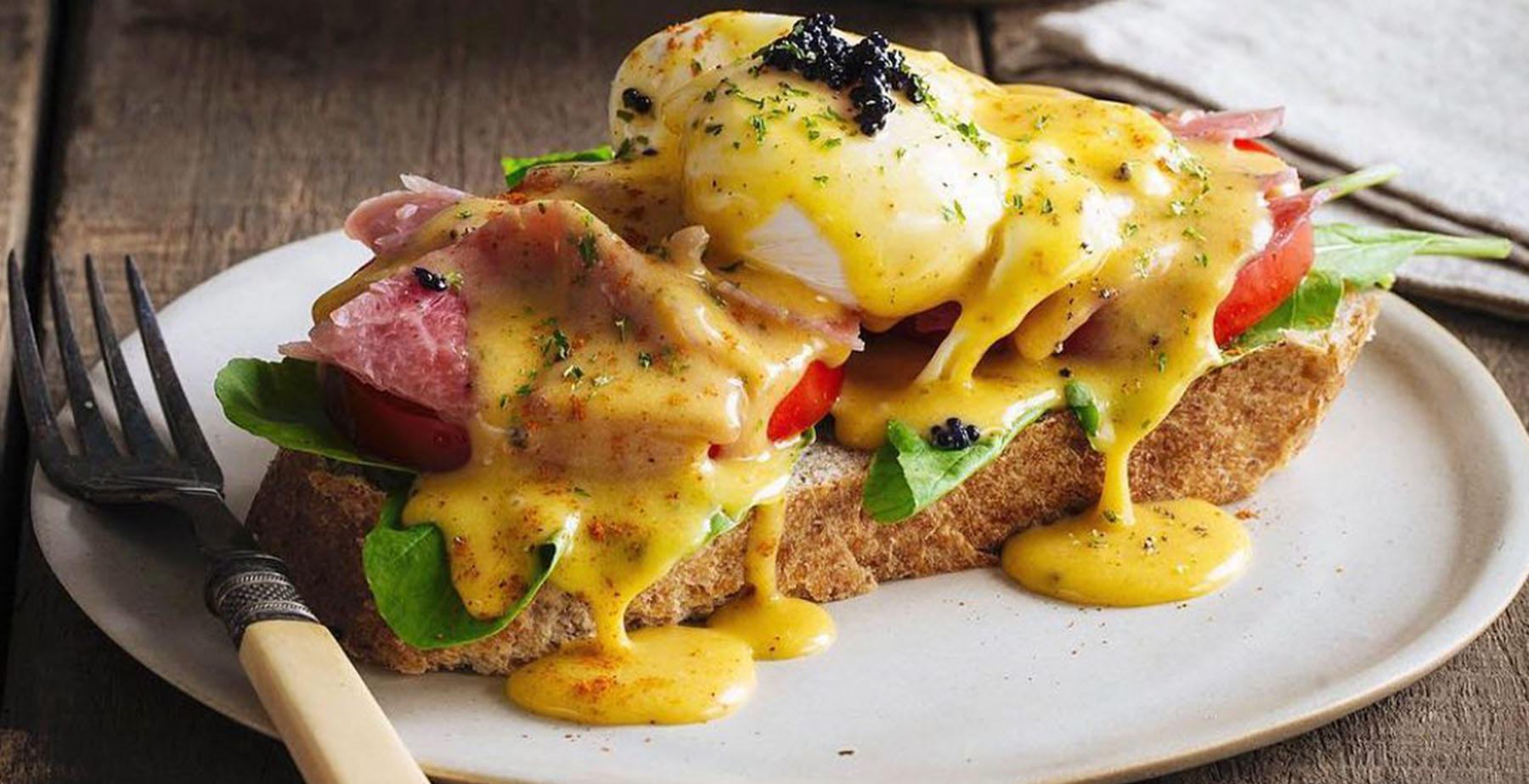 Eggs Benedict from Mary Grace Cafe