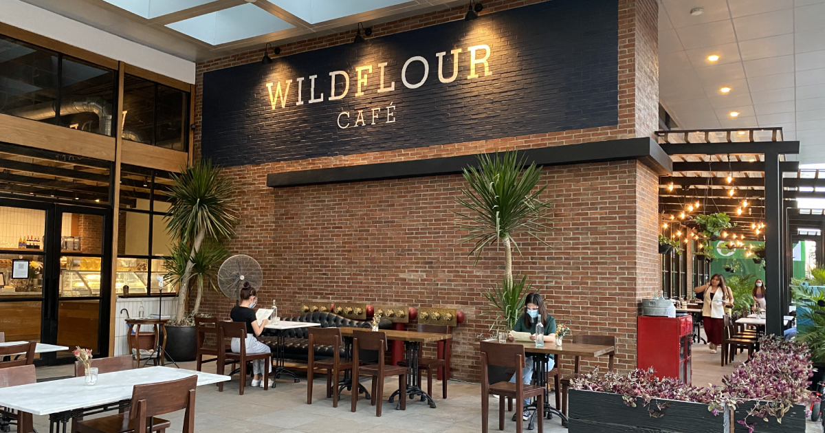 Let mom know how much you value her efforts to keep the house running smoothly by taking her to brunch at Wildflour Cafe.