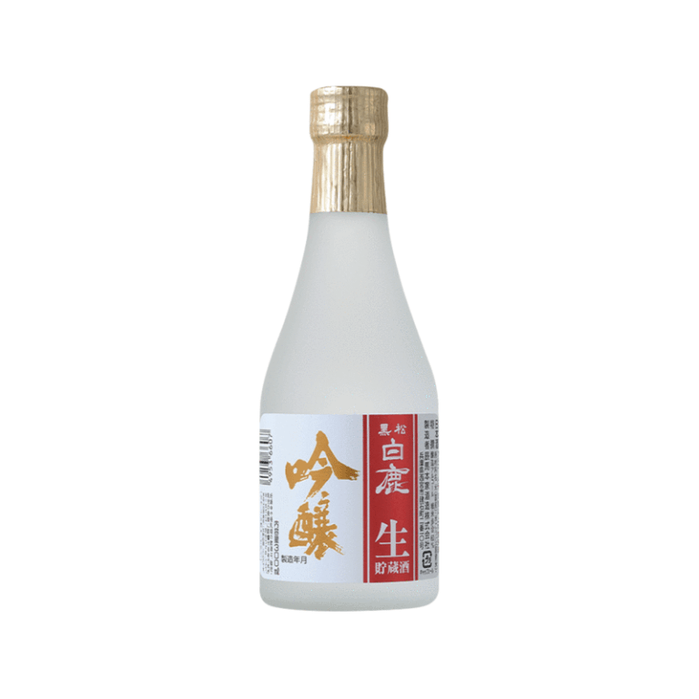 Hakushika Ginjo Namachozo is the perfect  complement to fish and vegetable meals! So your sushi, sashimi, oysters, and more will taste better with a shot of this.