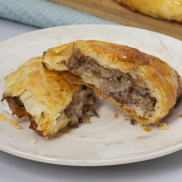 Something savory with your pastry? Try the Roast Beef Pie! It is the well-loved Conti's Roast Beef with Mushroom Sauce transformed into an appetizing, puffy, and flaky pie.