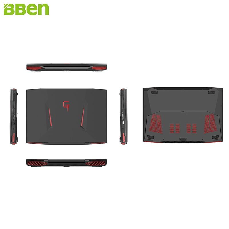 Bben Notebook Windows 10 Intel Core i7-7700HQ quad Core 17 3 inch IPS  Screen 32GB DDR4 RAM M 2 512GB SSD 2TB HDD Laptop