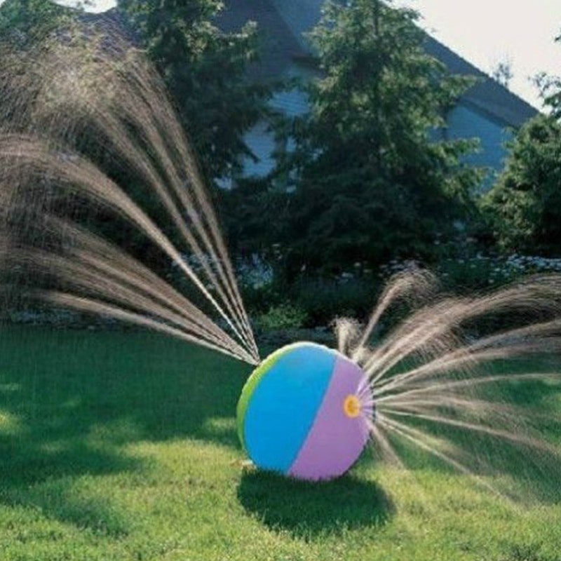 Children Water Ball Outdoor Inflated Toy For Baby Kids Giant Sprinkler  Inflatable Beach Ball Family Play Fun