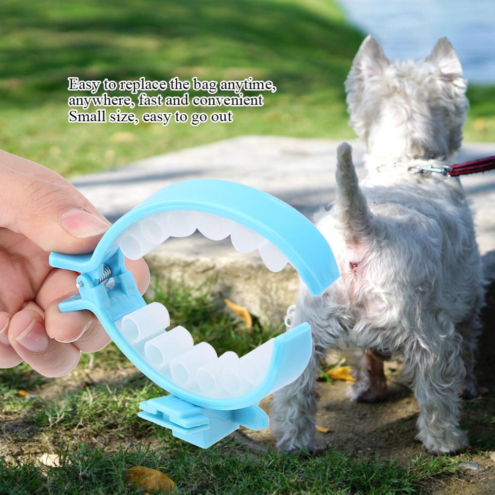 280381d8bb38 New Style Pet Dog Pooper Scooper Poop Bags Set Dog Cat Outdoor Waste  Cleaning Poop Shit Pickup Remover Poop Bags
