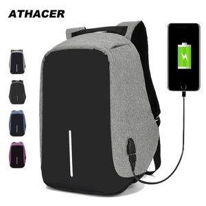 15.6 inch Laptop Backpack USB Charging Anti Theft Backpack Men Travel Backpack Waterproof School Bag...