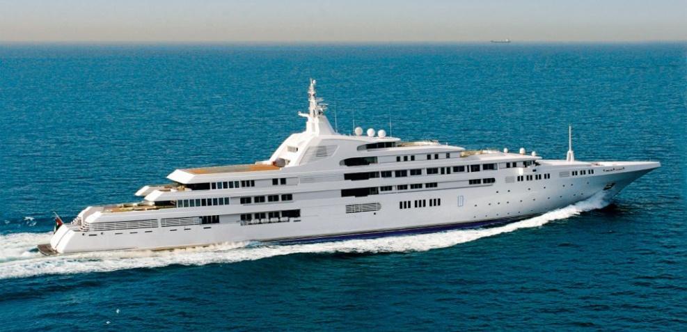 Dubai Yacht Sheikh Mohammed bin Rashid