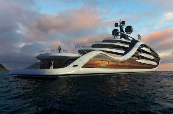 Andy Waugh yacht aft deck