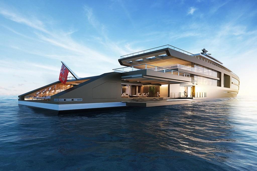 nature super yacht aft deck