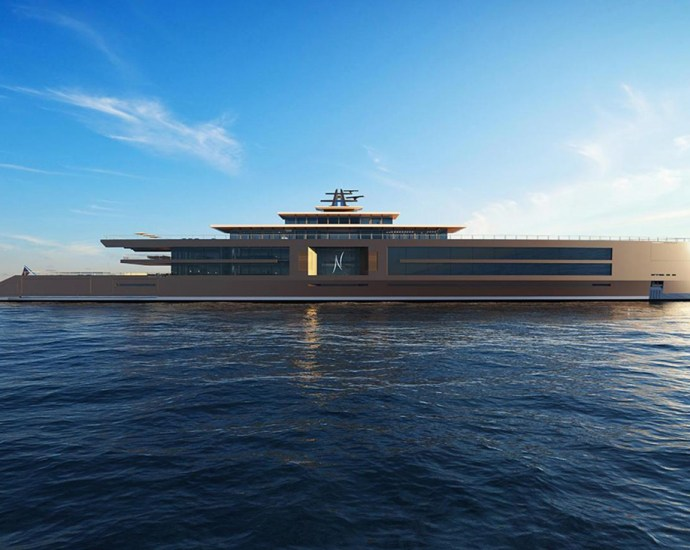 Luxury super yacht Nature by Sinot