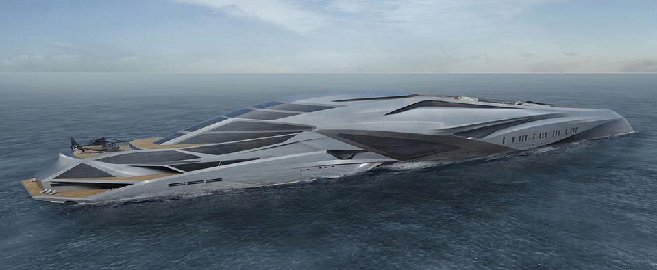 designer yacht concept
