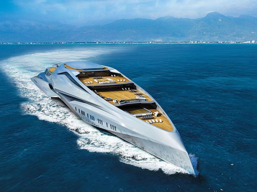 Project Valkyrie World Largest Super Yacht