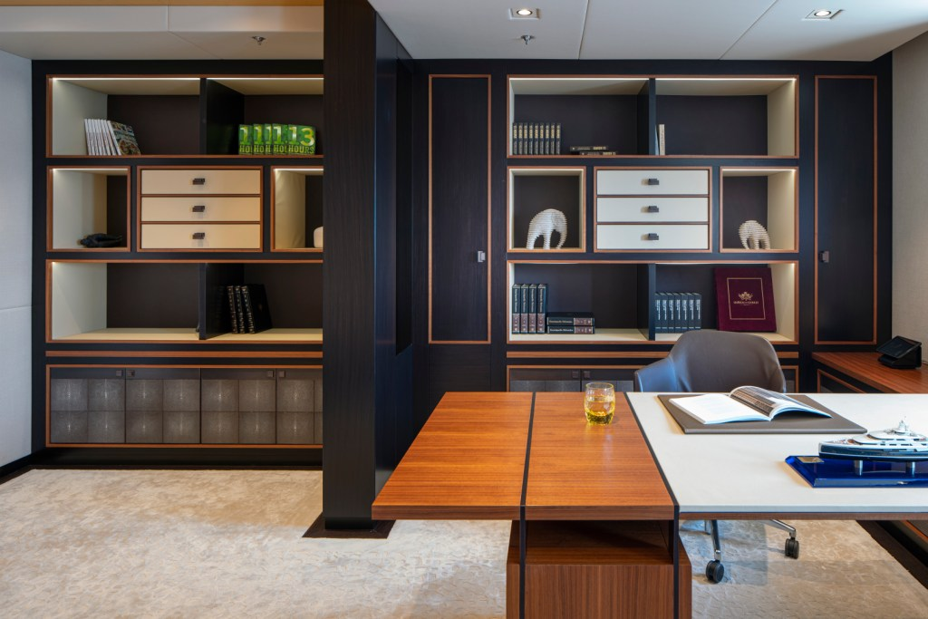 super yacht owner office