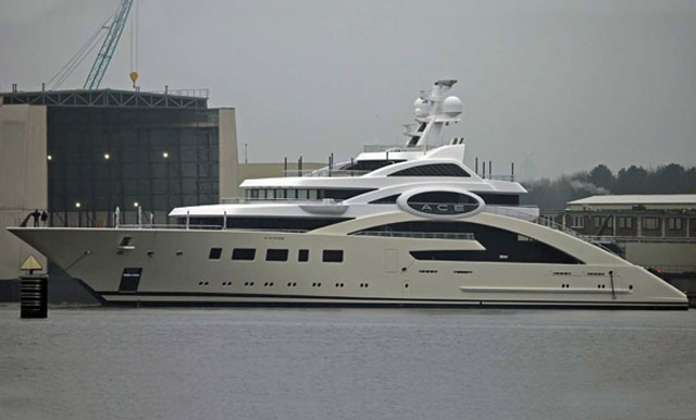 Ace Debuts At Lrssen Megayacht News