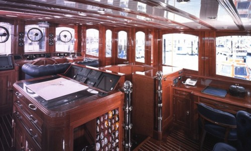 SLIDESHOW Classic Megayacht Atlantide Available For Sale