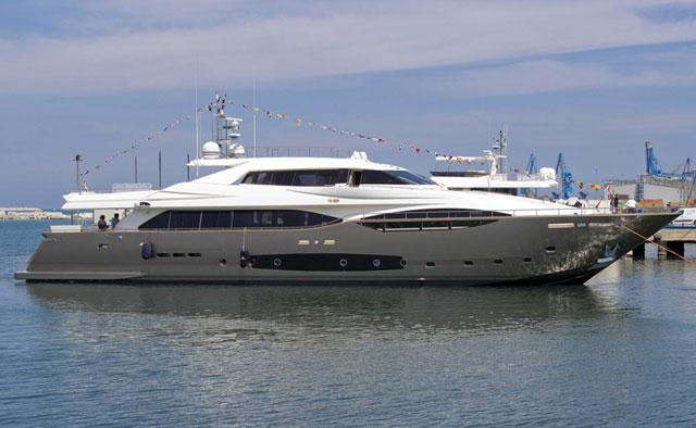 Latest Ferretti Custom Line 124 Launches Megayacht News