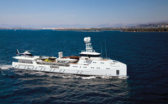 Monaco Yacht Show Sneek Peek Garon Sea Axe Fast Yacht