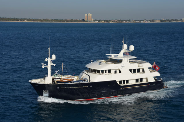 Megayacht News Onboard Newcastle Shipyards Safira