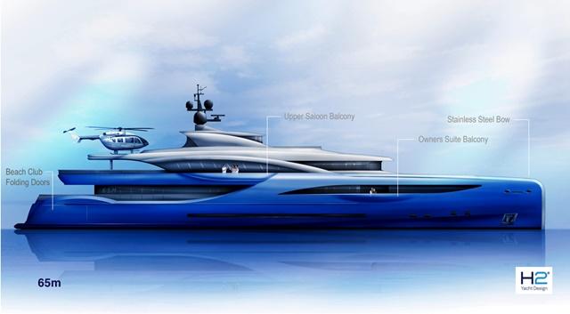 Drries Yachts Offering 65 Meter Megayacht Design