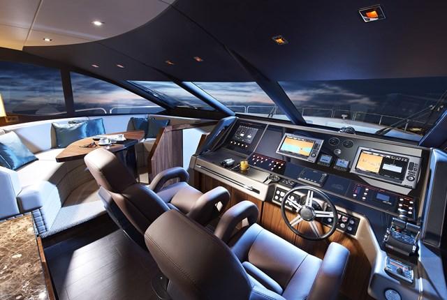Megayacht News Onboard Sunseeker 28 Metre Yacht