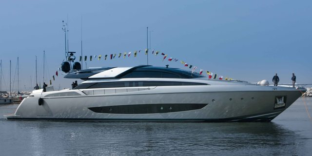 All Aluminum Riva 122 Mythos Launched Megayacht News