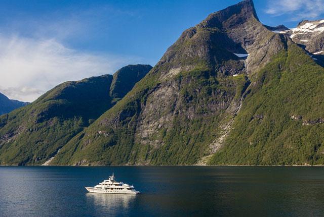 Destination Guide Norwegian Fjords Megayacht News