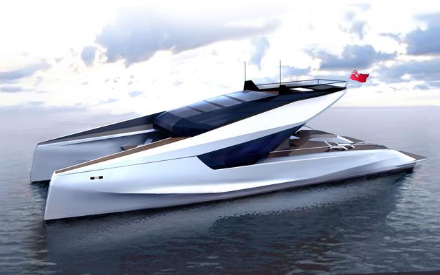 JFA Yachts 115 Power Cat By Peugeot Design Lab