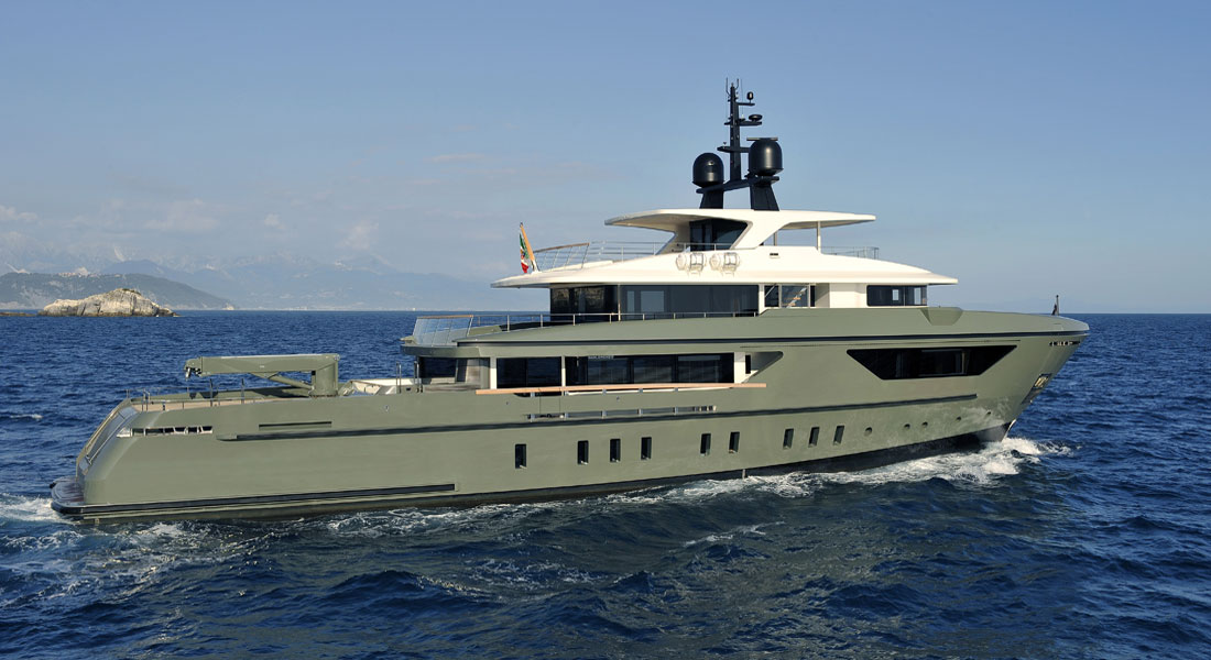 Megayacht News Onboard Moka Sanlorenzo 460Exp