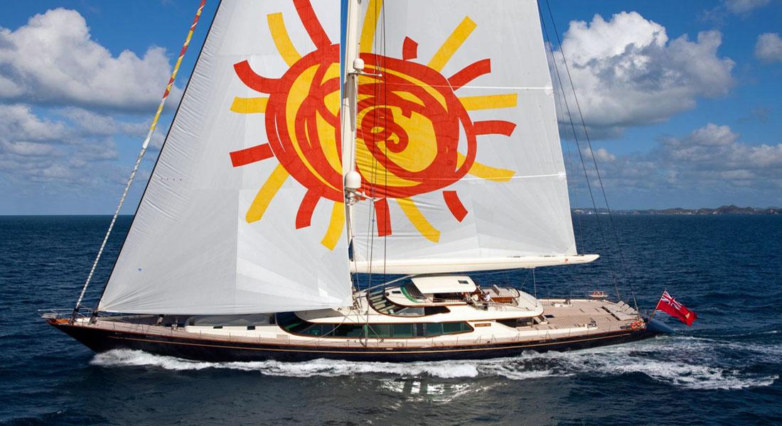 Charter Sailing Superyacht Tiaraand Help Charity One Drop