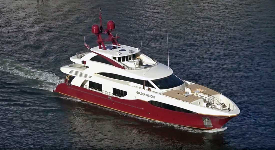 Golden Touch II Charter Stopped By Coast Guard In Miami Megayacht News