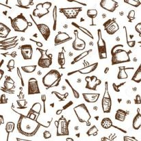 14946677-kitchen-utensils-sketch-seamless-pattern-stock-vector-food-seamless-background