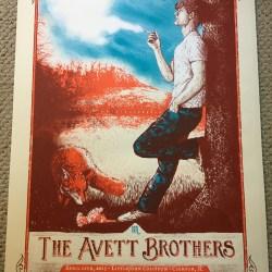 Avett Brothers Clemson SC April 2014