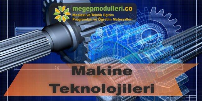 makine teknolojileri alani