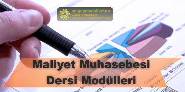 maliyet muhasebesi dersi modulleri