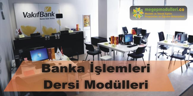 banka islemleri megep modulleri