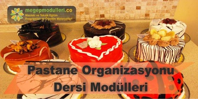 pastane organizasyonu dersi modulleri megep