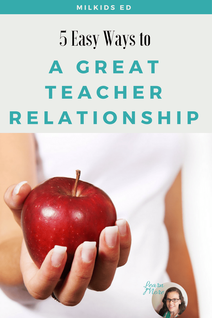 Learn 5 easy steps to make your parent-teacher relationship amazing! Get your FREE Ultimate School Success Kit in your inbox: http://eepurl.com/c1i809 | Meg Flanagan, MilKids Ed | Make the K-12 Journey Easier |