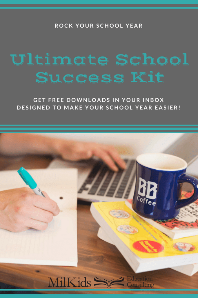 Ready to have the best school year ever? Learn all the tips from finding a great school to creating an amazing parent-teacher relationship from Day 1...all for FREE. Get your copy of the Ultimate School Success Kit today! | Meg Flanagan, MilKids Ed