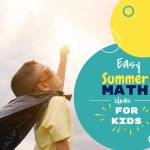 Easy Summer Math Activities and Resources for Kids