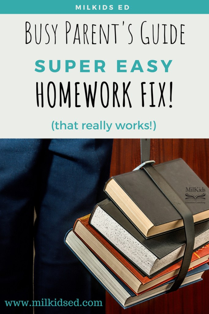 Use an easy homework fix to take the stress out of after school!