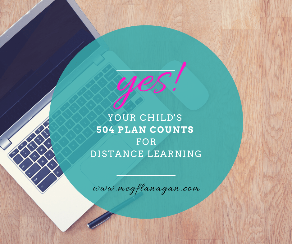 Learn how to leverage your child's accommodations into a new plan that makes sense for remote learning!