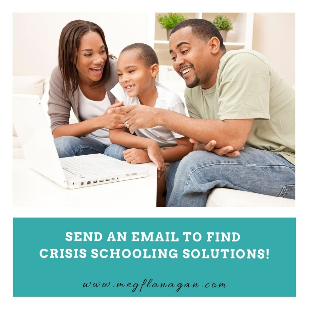 Sometimes the biggest crisis schooling issues parents are facing can start being fixed with an email - grab your FREE email templates here!