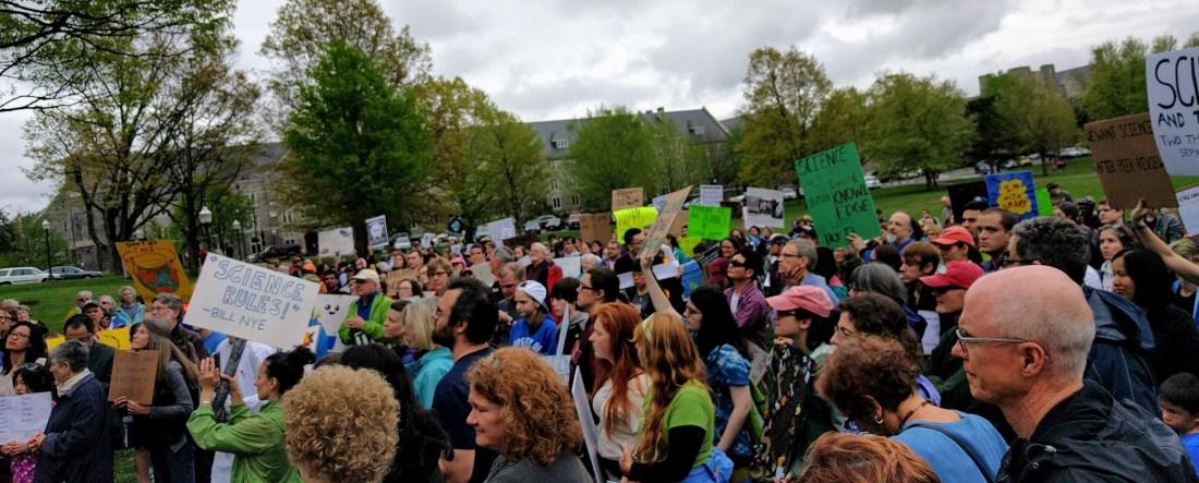 Science March 2017 Blacksburg VA