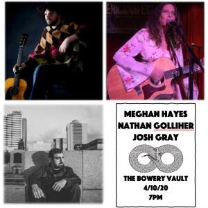 Meghan Hayes, Nathan Golliher, Josh Gray