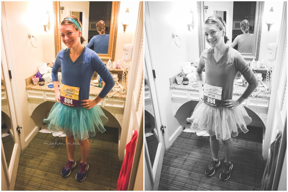 Disney Princess Half Marathon, Meghan Mace Photography, Walt Disney World, Running Outfit, Princess Outfit