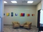"Installation view of ""Meditations"" by Meghan MacMillan"
