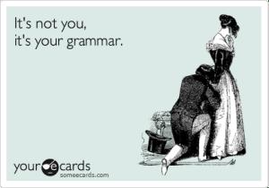 grammar ecard