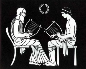 Maybe even Greek poets and playwrights like Homer and Euripides found music inspiring