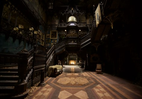 This is the creepy old house from Crimson Peak. Delafosse Hall reminded me of it a little, except without the tragic ghosts.