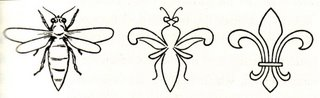 fleurdelis bee